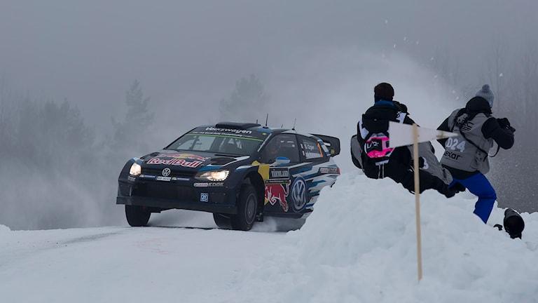 Sebastien Ogier. Foto: Micke Fransson/TT
