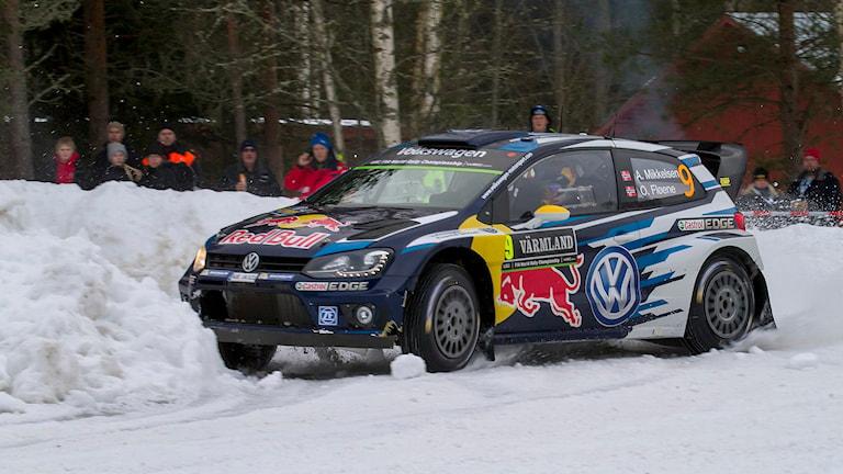 Andreas Mikkelsen. Foto: Micke Fransson/TT.