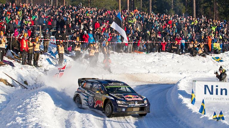 Andreas Mikkelsen och Ola Fløene. Foto: Micke Fransson/TT.