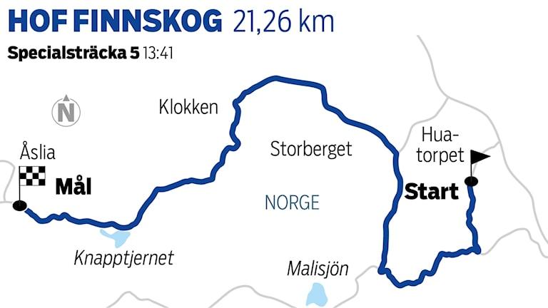 Grafik Hof Finnskog 5 / TT Nyhetsbyrån