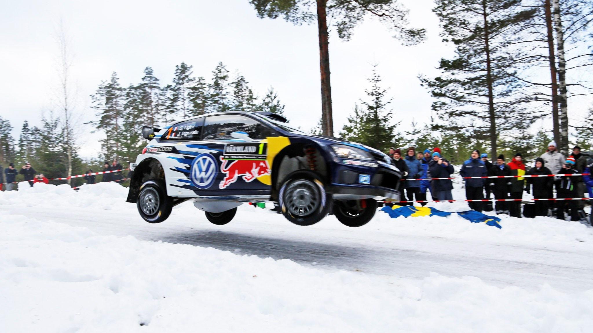 Rallyluffen med Sara Johansson