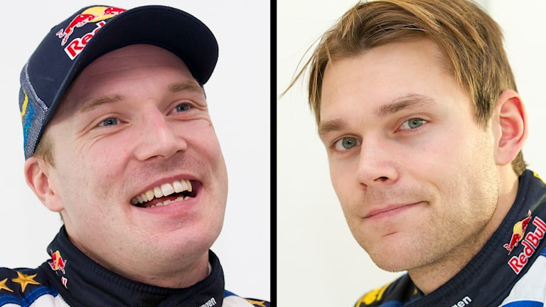Jari-Matti Latvala och Andreas Mikkelsen