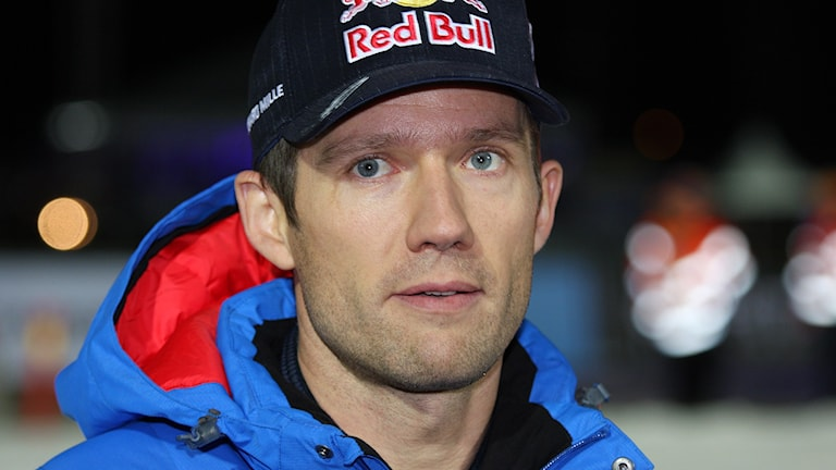 Sebastien Ogier under Rally Sweden 2016