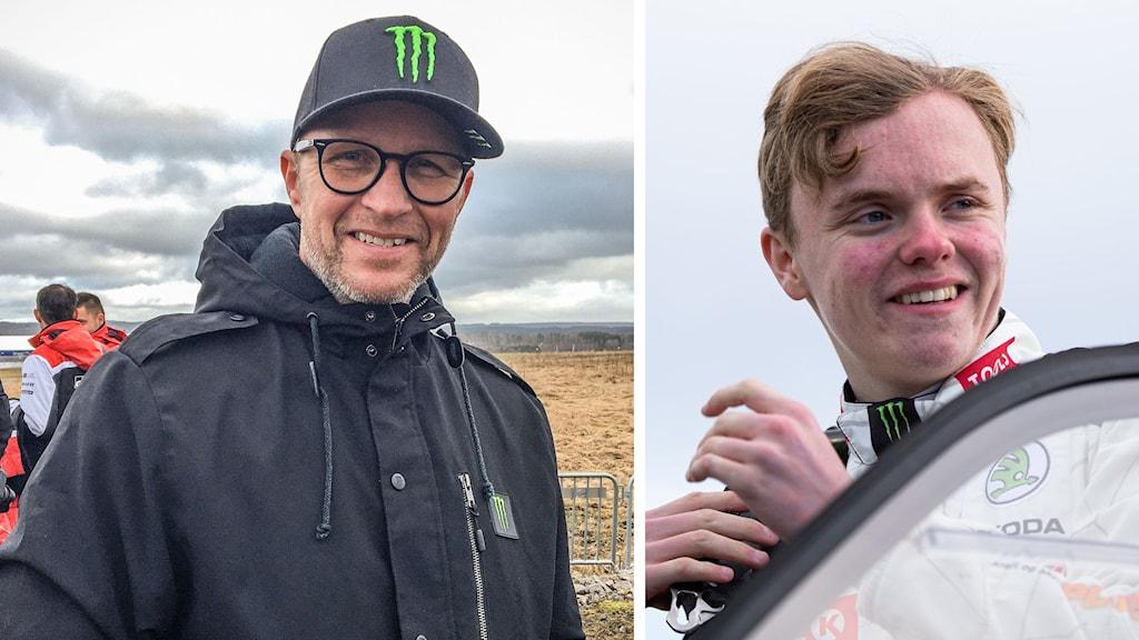 Petter och Oliver Solberg. Foto: Sara Johansson/Sveriges Radio