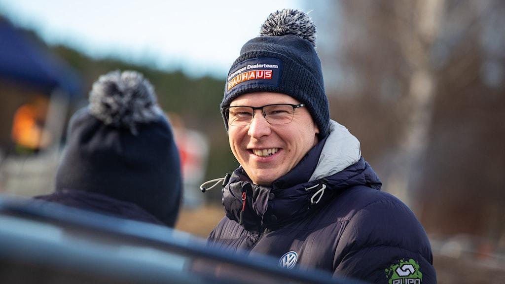 Johan Kristoffersson Foto: Isak Olsson/Sveriges Radio.