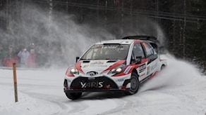 Jari-Matti Latvala under Svenska rallyt 2017. Foto: Micke Fransson/TT