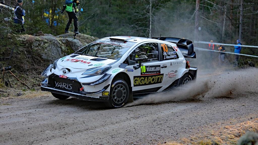 Jari-Matti Latvala, shakedown 2020. Foto: Örjan Bengtzing/Sveriges Radio.