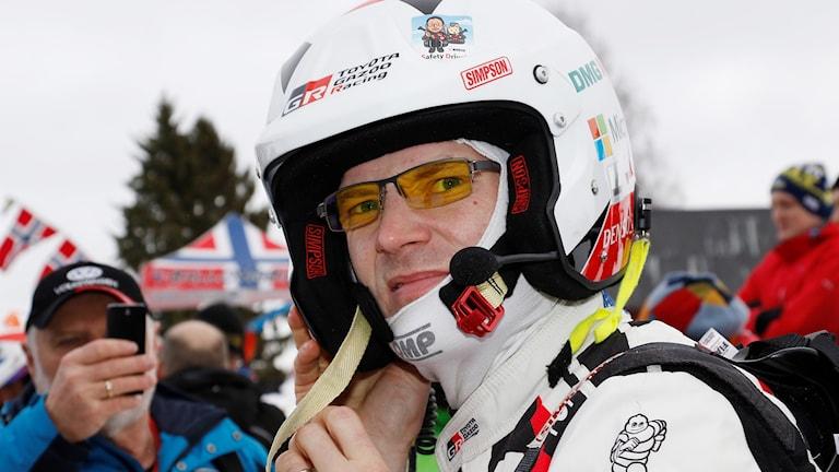 Jari-Matti Latvala tog över ledningen i Svenska rallyt på den fem sträckan.