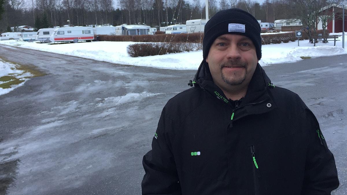Marko Häkkinen, Hampetorpin leirintäalue