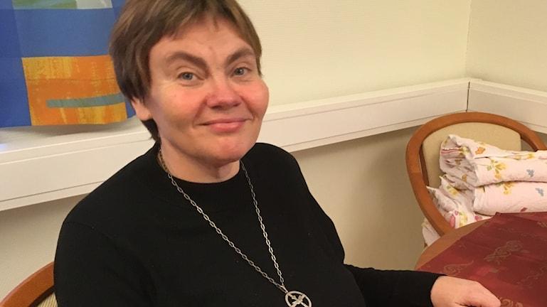 Diakoni Minna Hellström