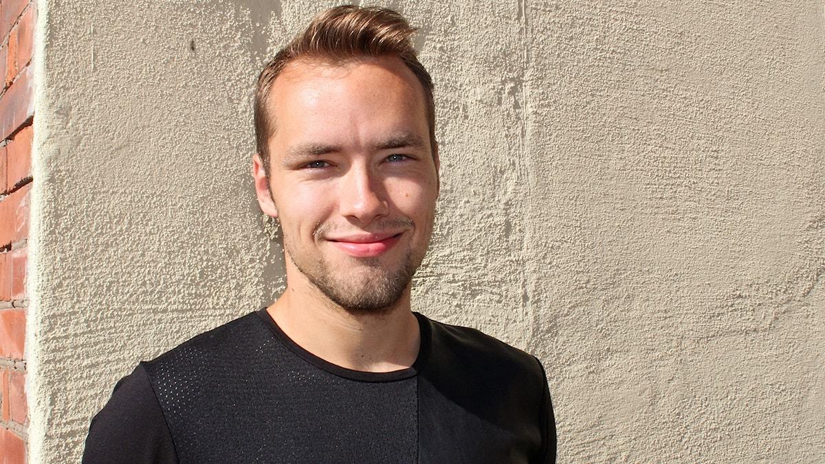 Carljohan Eriksson, jalkapallomaalivahti Jönköpings Södra.