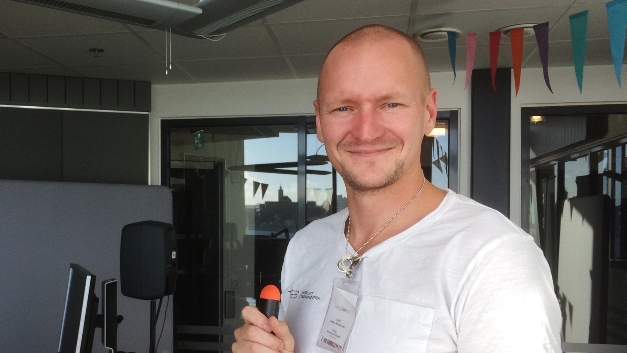 Jarkko Kortelainen ideoi harjanvarresta huipputeknologiaa