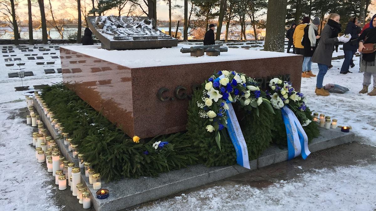 Marsalkka Mannerheimin hauta.
