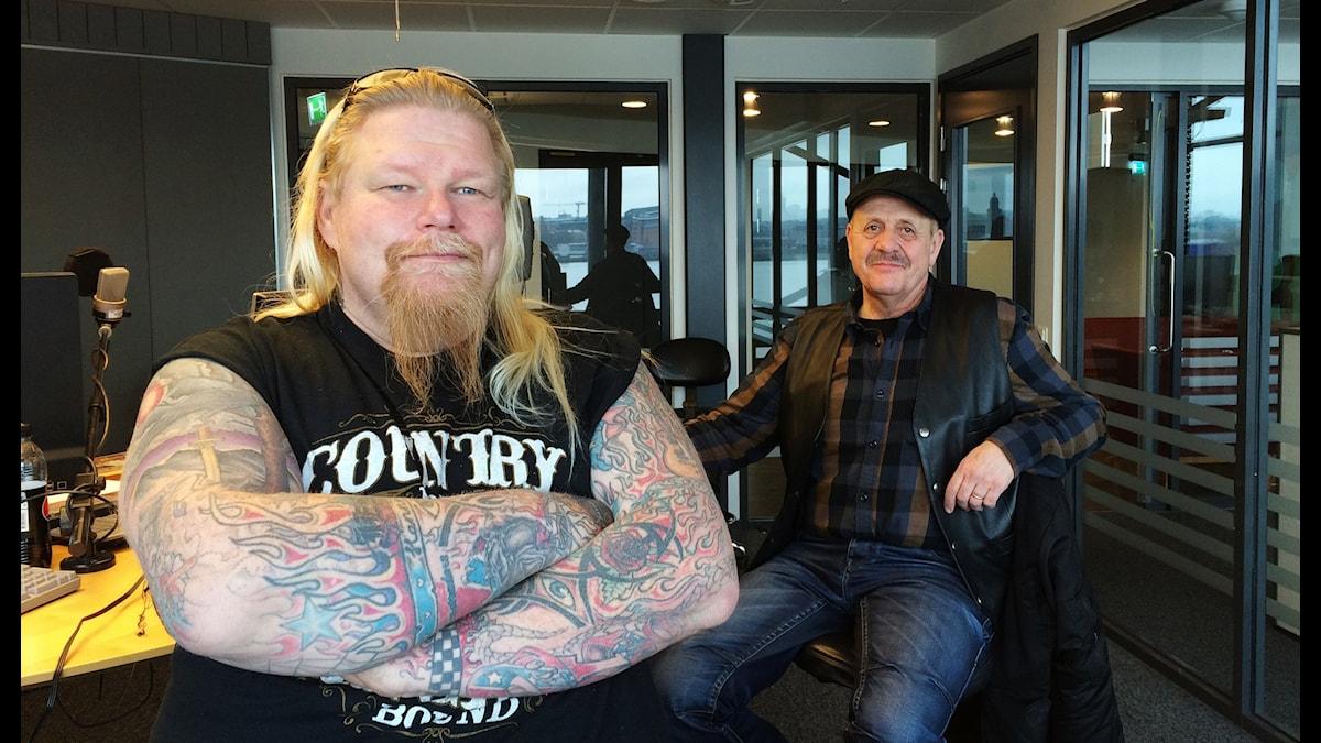 Pontus J Back och Jukka Mäkikangas