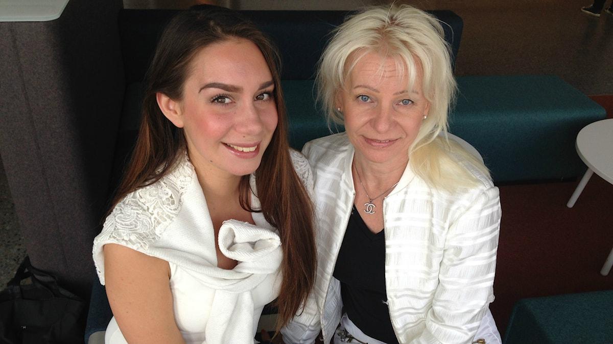 Jasmin Lindberg ja Anne Viitala
