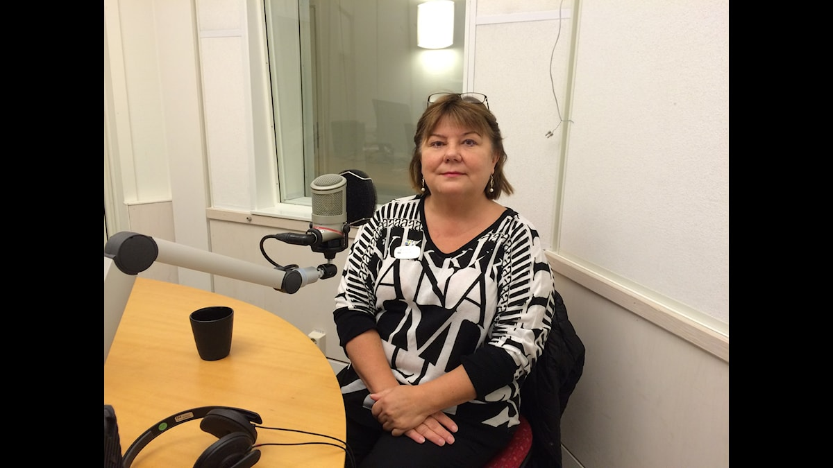 Senja Lillqvist. Foto: Jarmo Mänty, Sveriges Radio