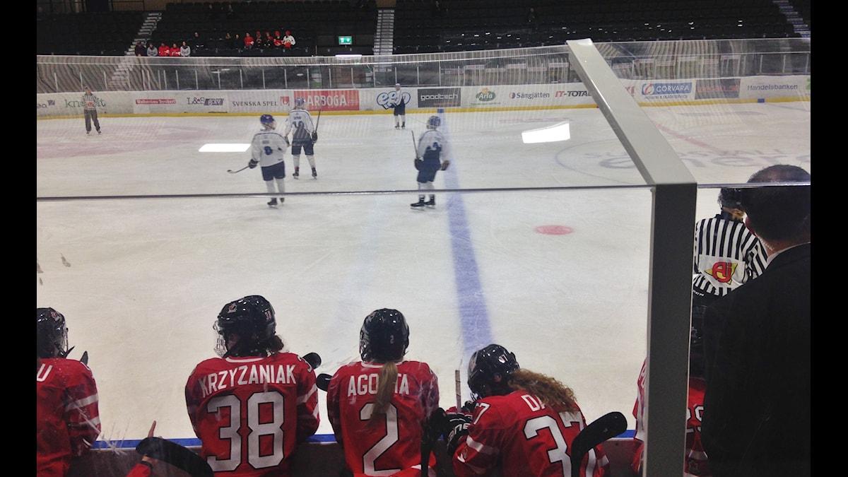 Pelitilanne Kanada-Suomi