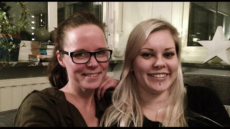 Juulia Järvdike ja Heidi Hooli