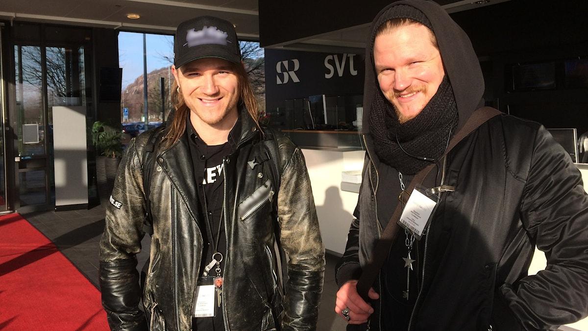 Veljekset ja yrittäjät Jari ja Jere Kinnunen