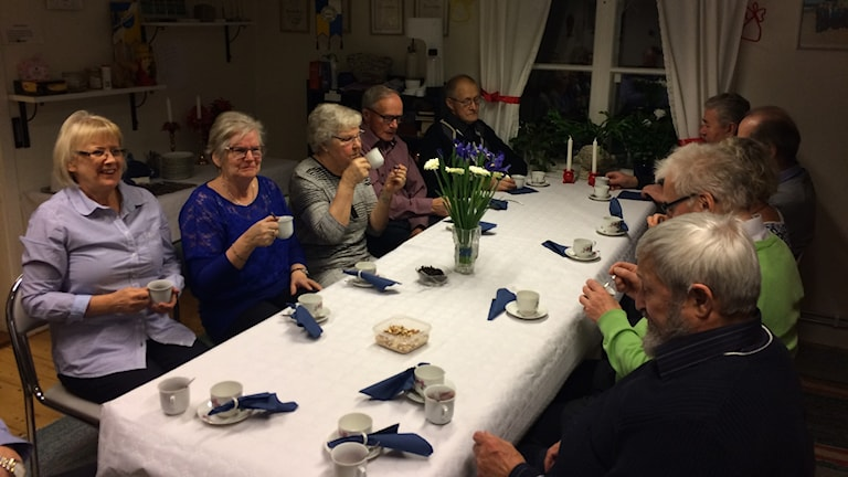 Itsenäisyyspäivän viettoa Huskvarnan Suomiseuralla 2017