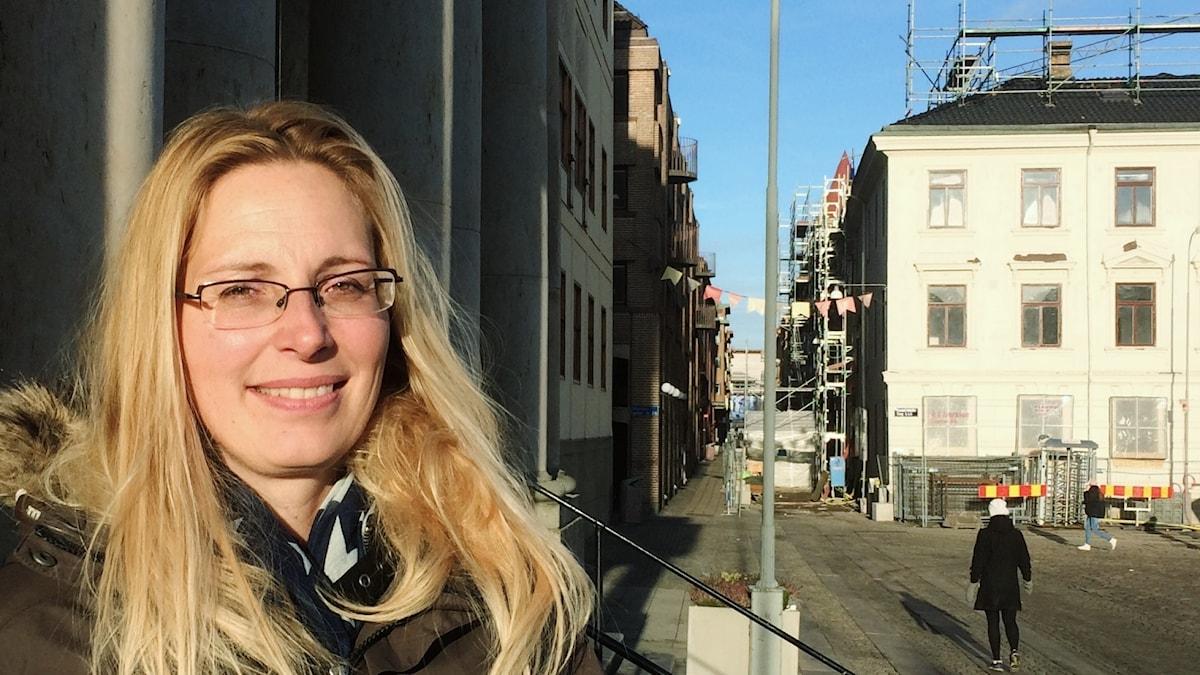 Göteborgin hallintoaluekoordinaattori Maria Balaban