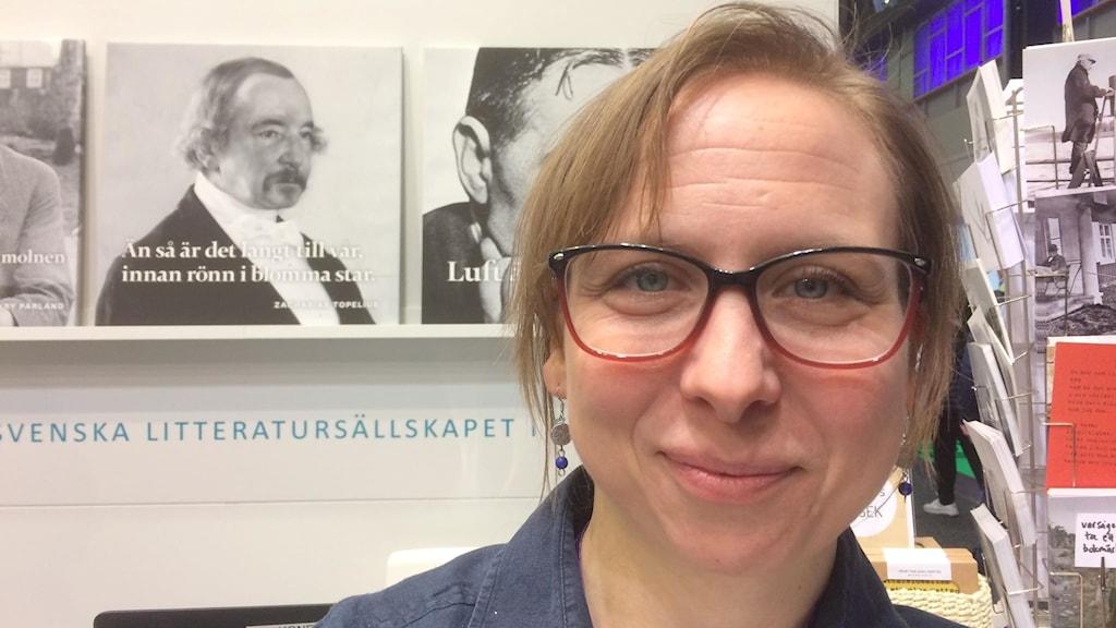 Katarina Pihlflyckt Svenska litteratursällskapetista kertoo Topelius-satsauksesta