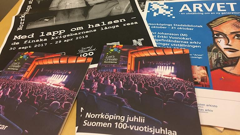 Norrköping juhlii Suomea