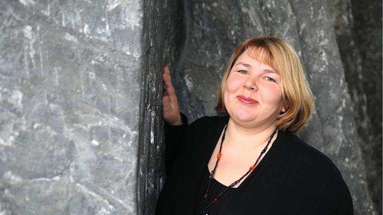 Sari-Anna Söderman. Foto: Jukka Tuominen /Sveriges Radio Sisuradio