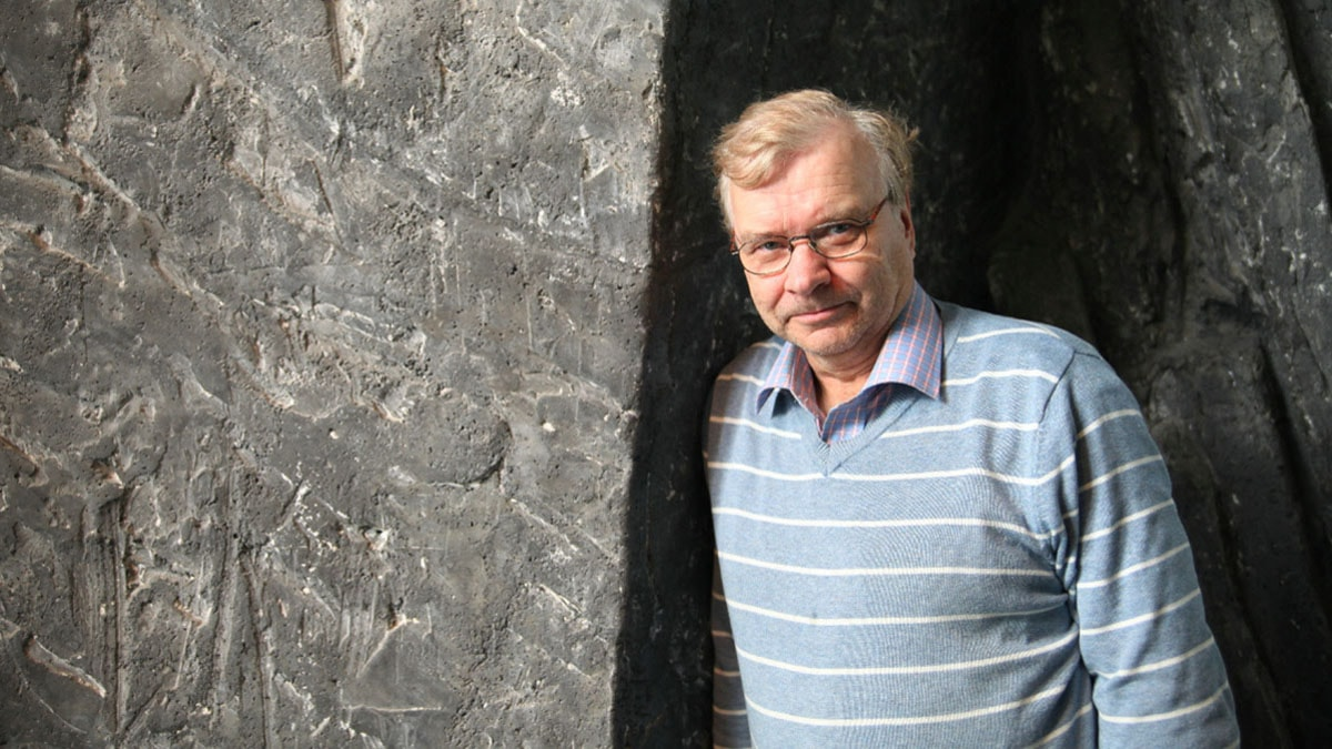 Stig Karlström. Foto: Jukka Tuominen /Sveriges Radio Sisuradio