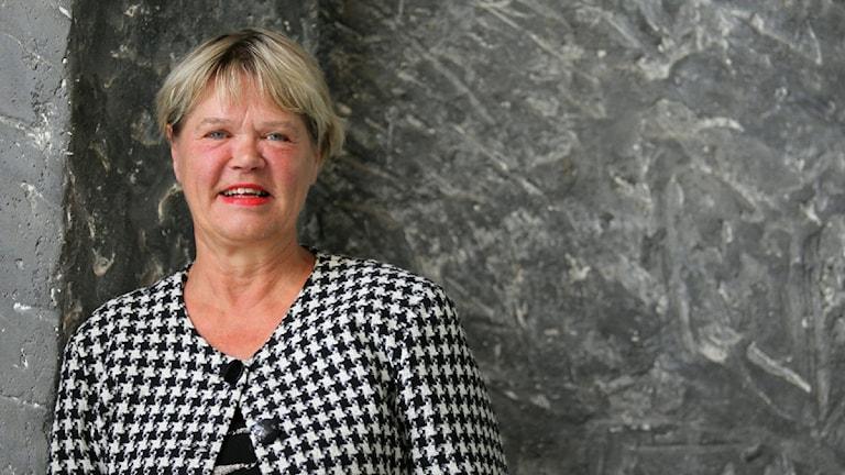 Eija Björstrand. Foto: Jukka Tuominen /Sveriges Radio Sisuradio