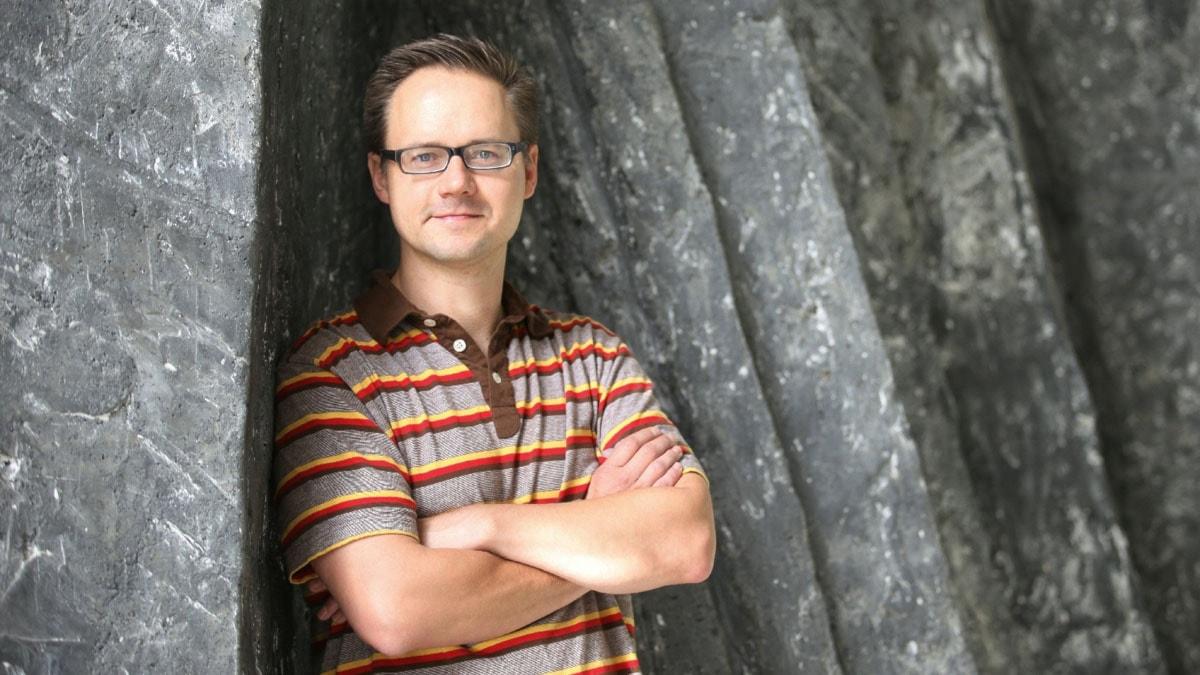 Erik Regnström. Foto: Jukka Tuominen /Sveriges Radio Sisuradio