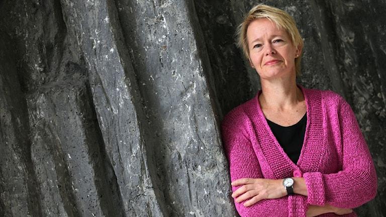Leena Salonen. Foto: Jukka Tuominen /Sveriges Radio Sisuradio