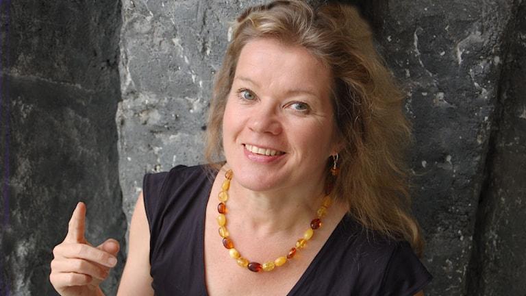 Kirsi Blomberg foto: Virpi Inkeri Sveriges Radio Sisuradio
