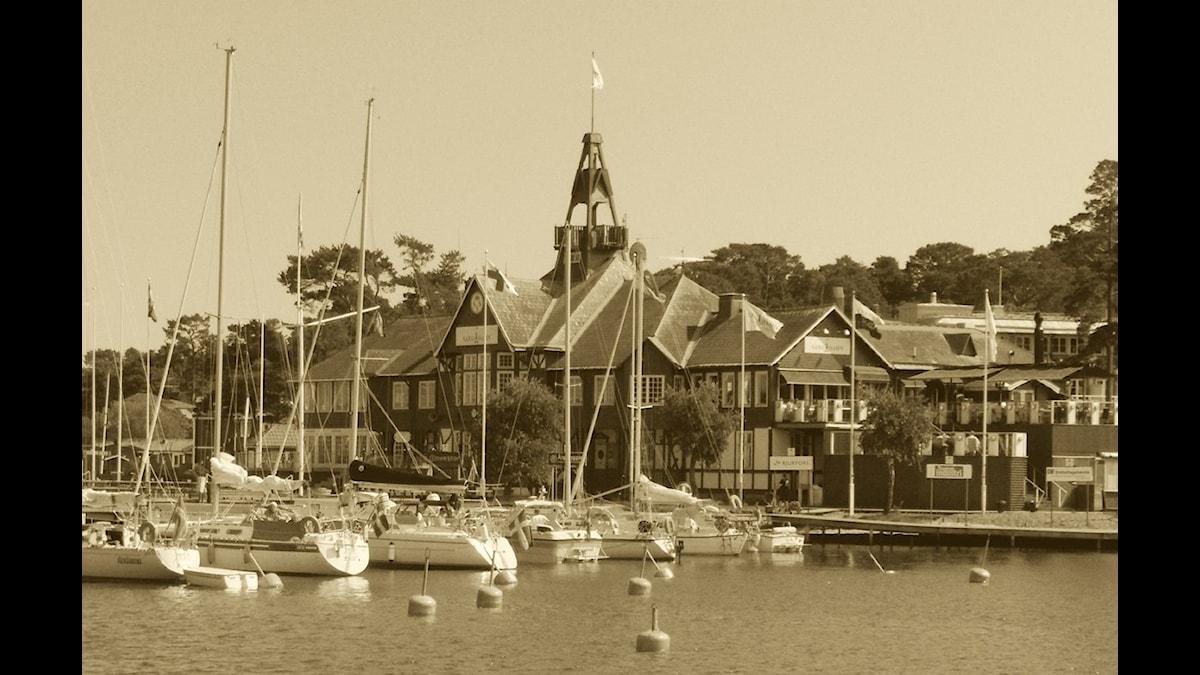 Sandhamns hotell. Foto: GNU