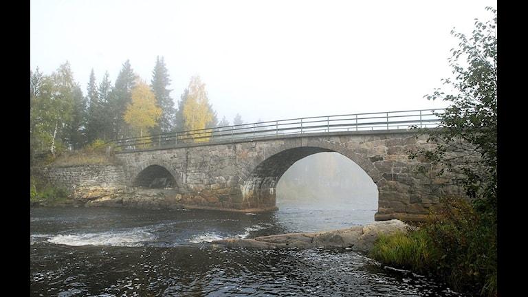 Rastplatsen vid stenbron där Carolin Stenvall försvann. Foto: Thord Nilsson / SCANPIX
