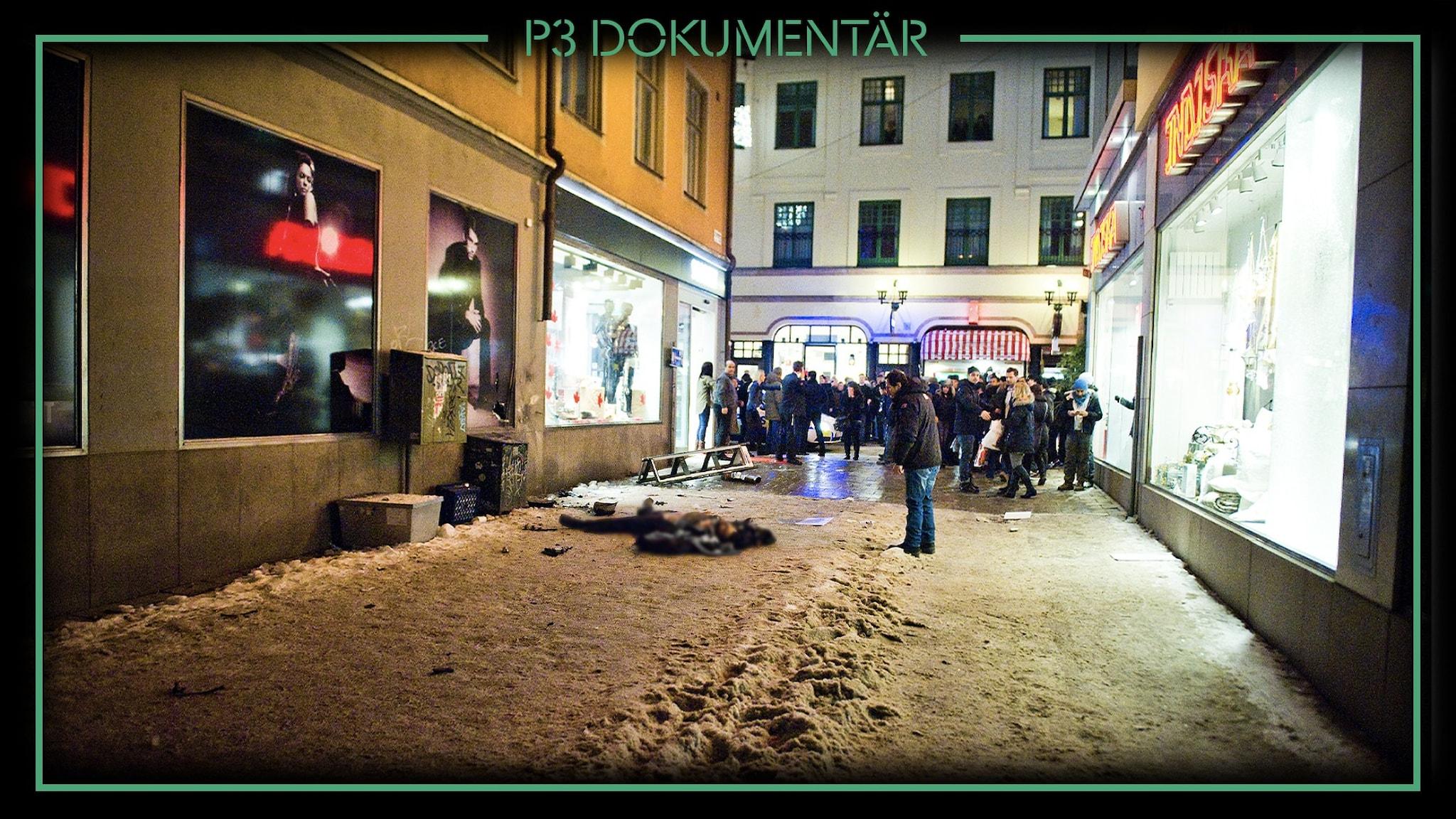 P3 Dokumentär Självmordsbombaren på Bryggargatan