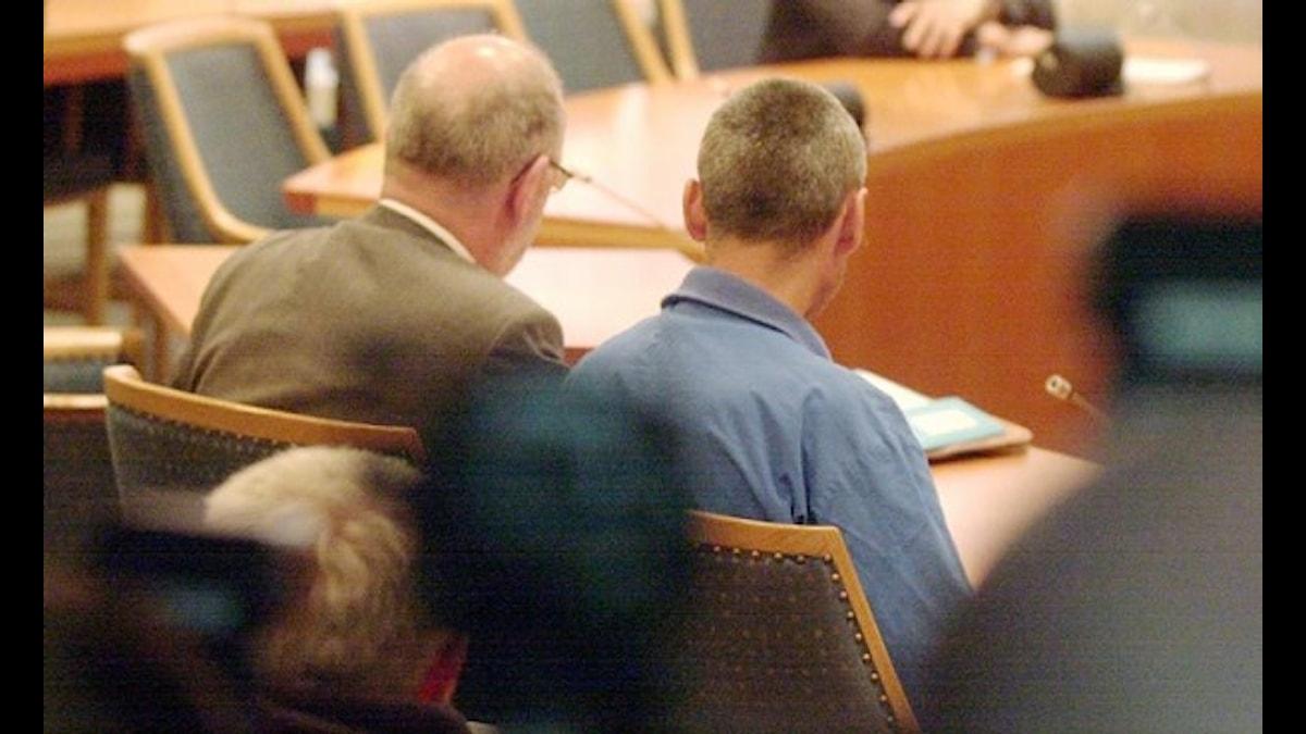 En misstänkt häktades i juni 2004 för mordet på Helén Nilsson.