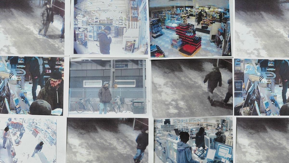 Spanings och övervakningsbilder nov-dec 2010. Foto: Säpo