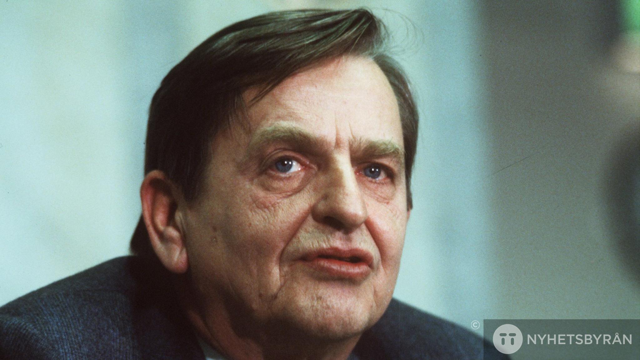 Olof Palme. Foto: Anders Holmström/TT