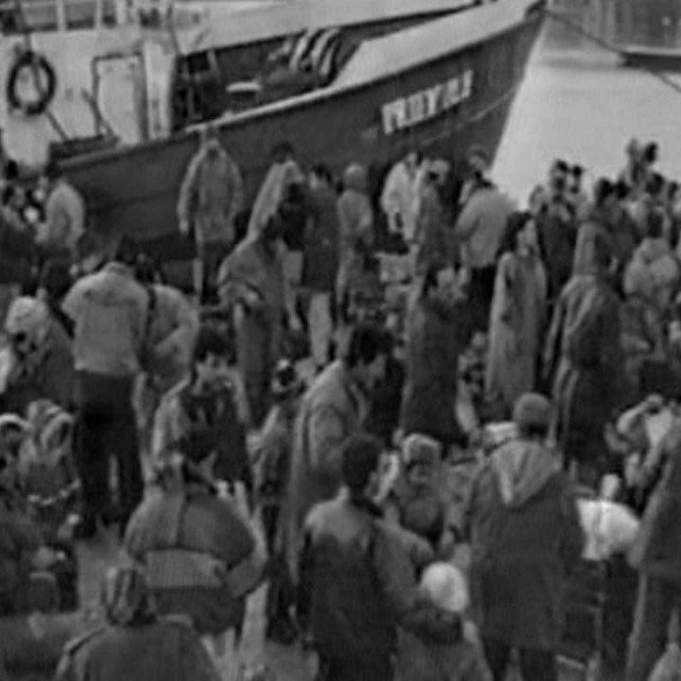 Flyktingbåtarna till Gotland på 1990-talet