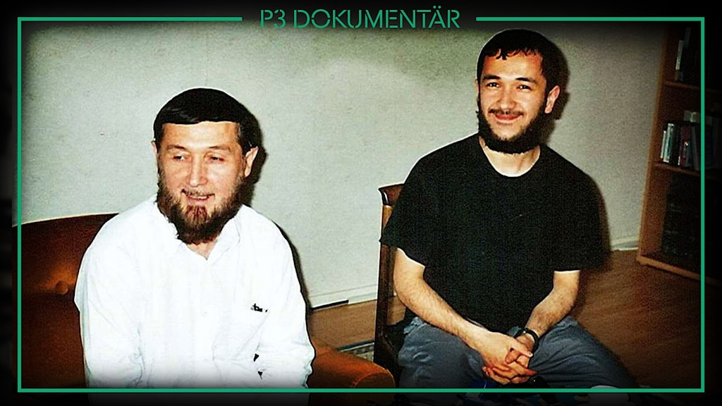 Imamen Obidkhon och sonen David