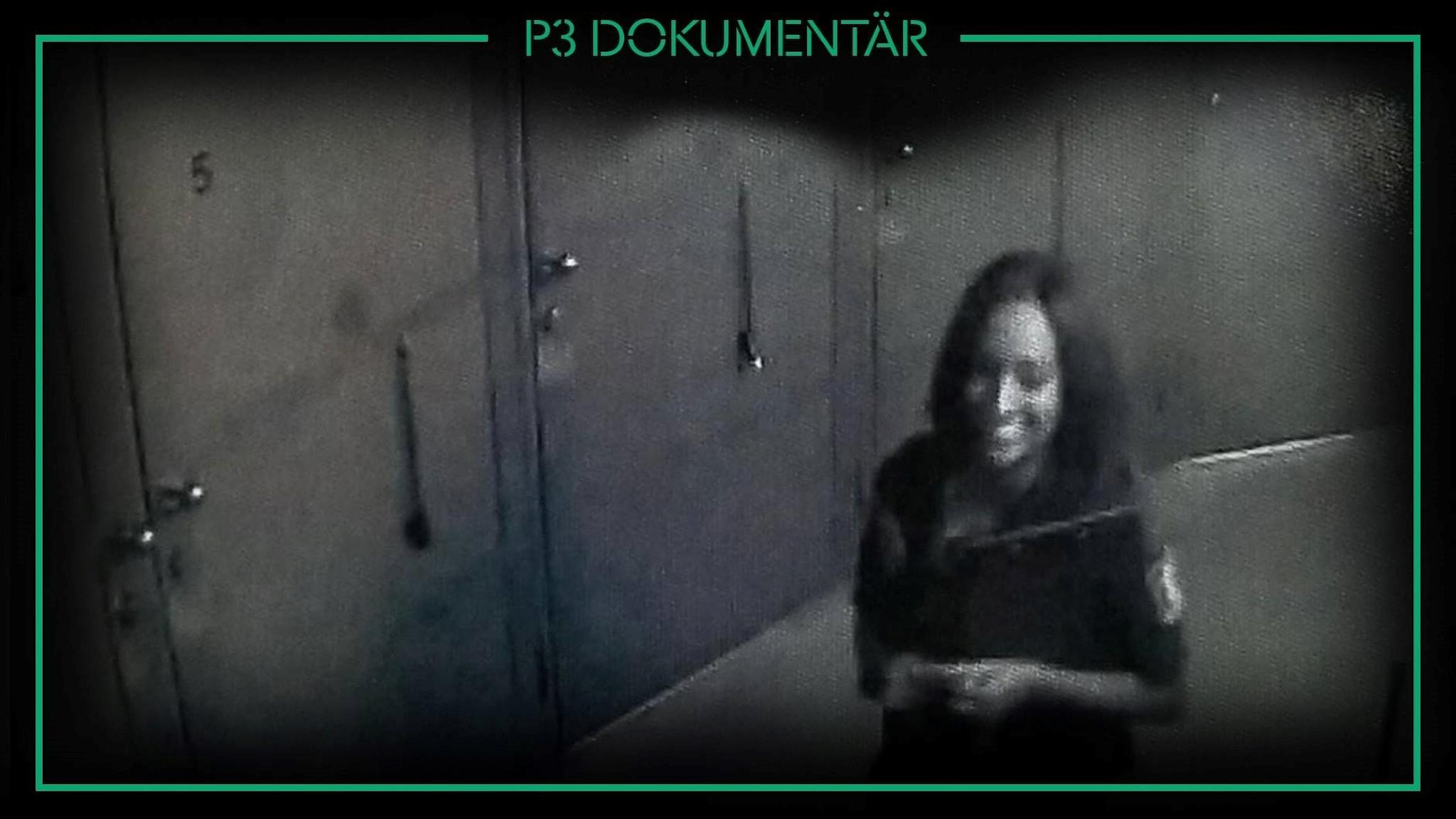 Bild på Karen från polisens förundersökning