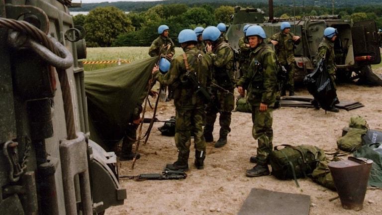Svenska soldater i Bosninen