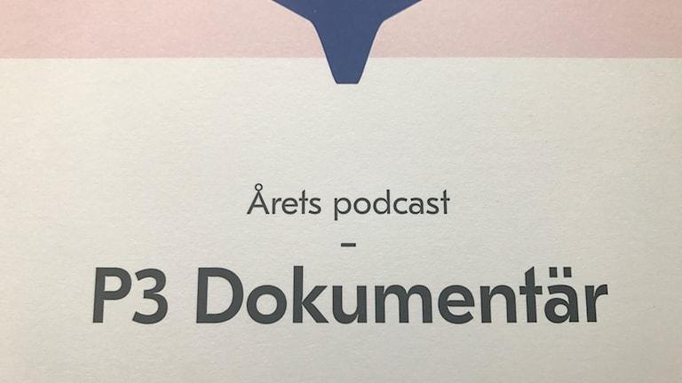 Stora Podcastpriset