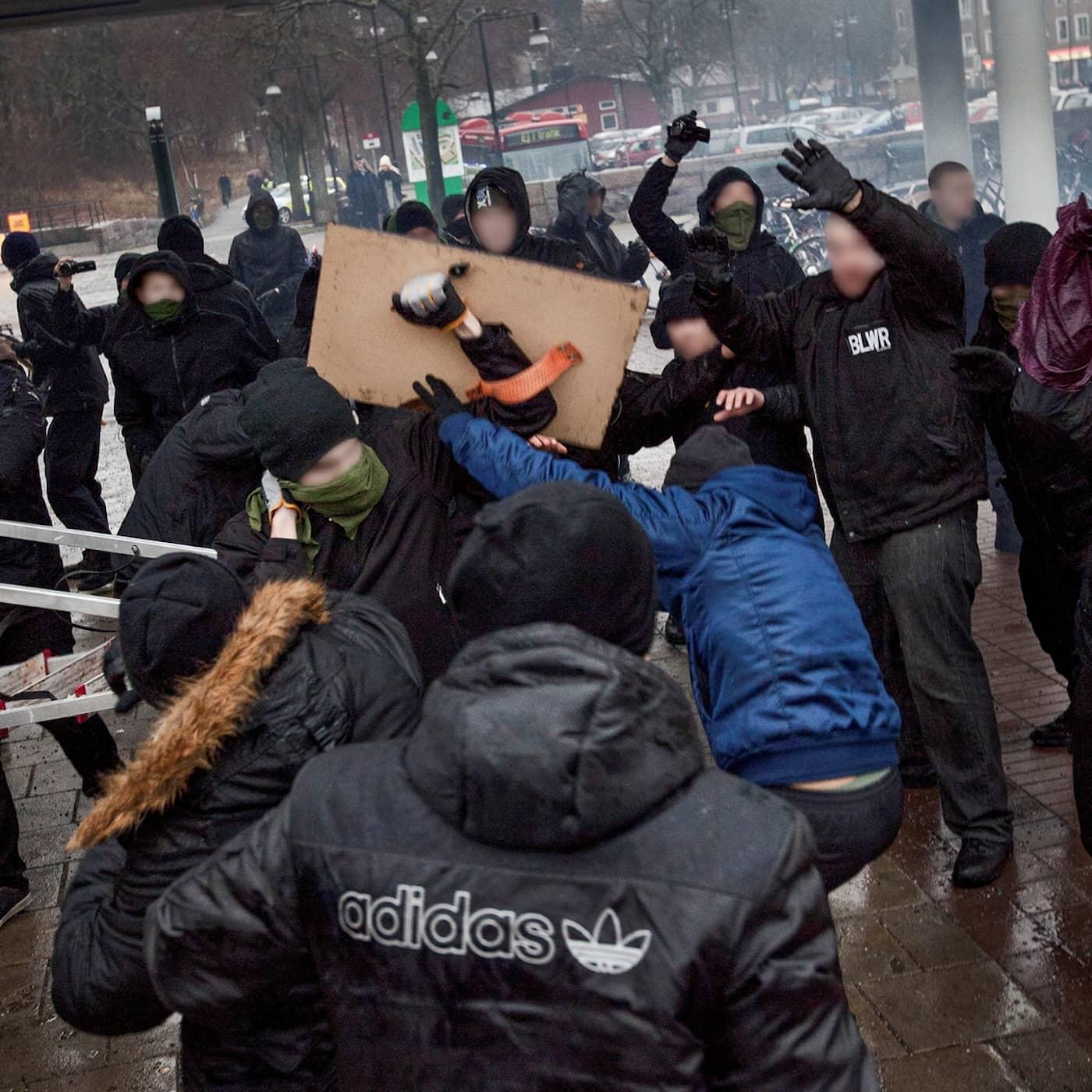 Nazistattacken i Kärrtorp