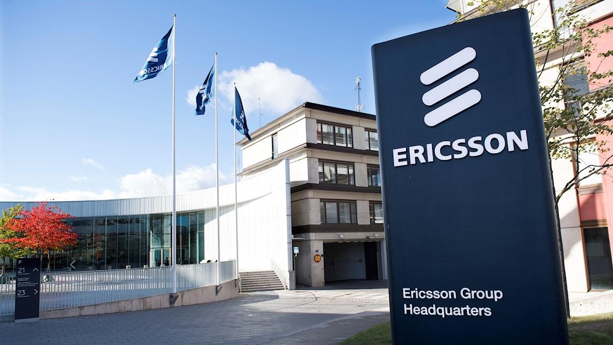 Ericssons huvudkontor i Kista, utanför Stockholm.