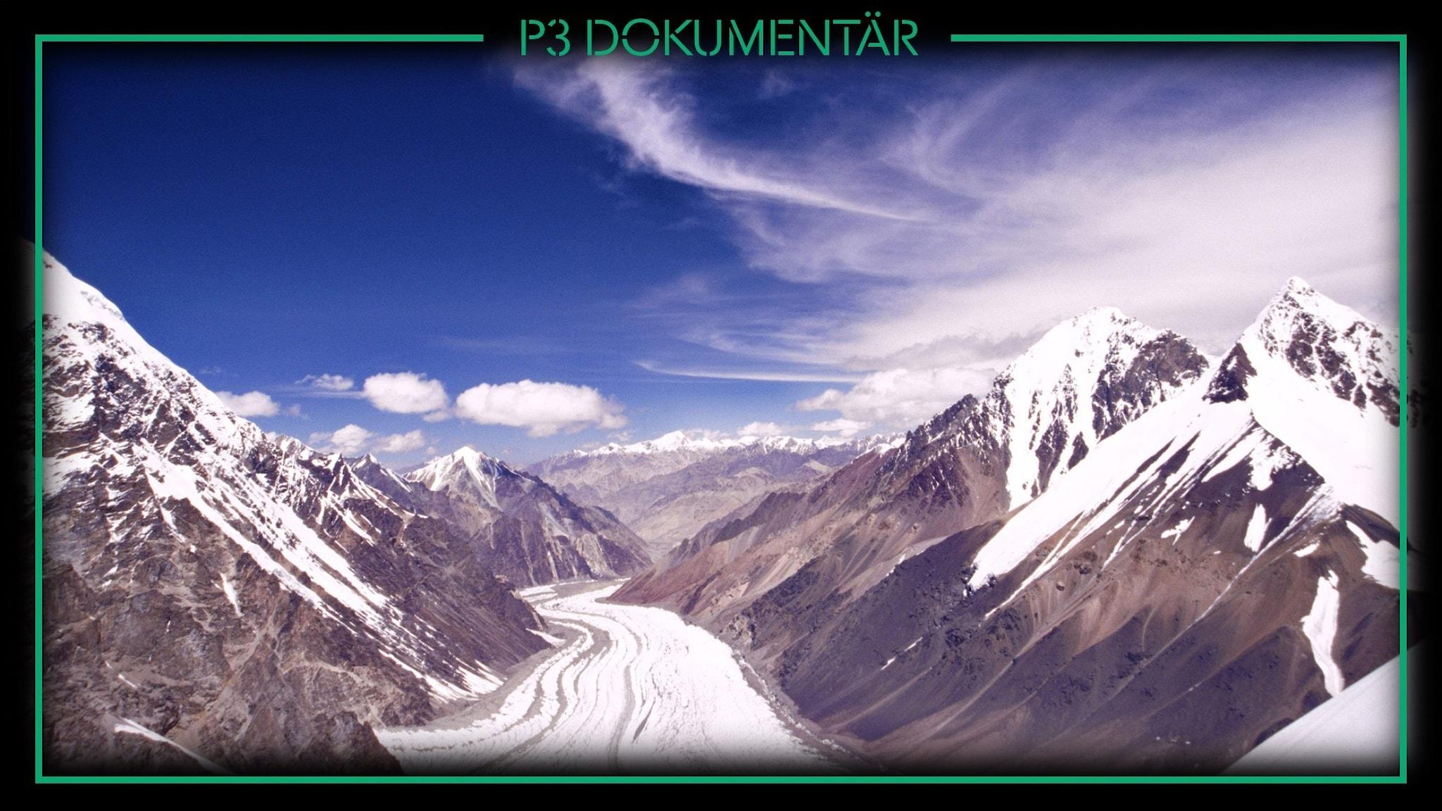 En bild på berget K2.