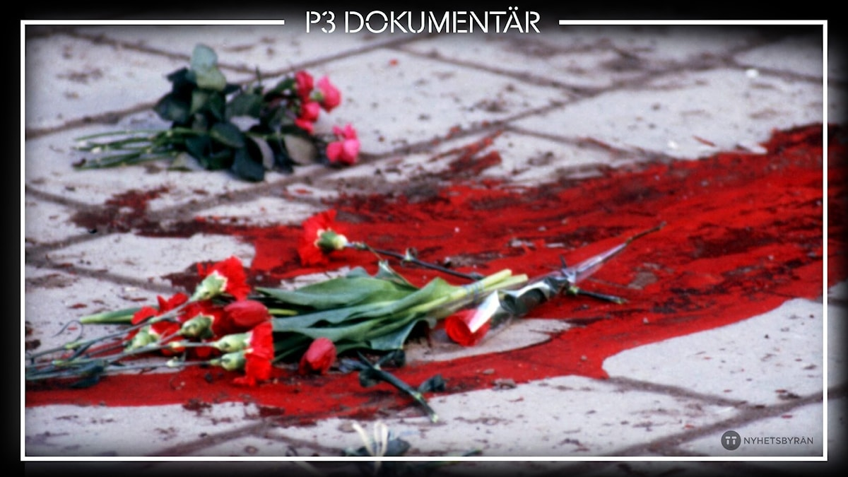 Olof Palmes mordplats.