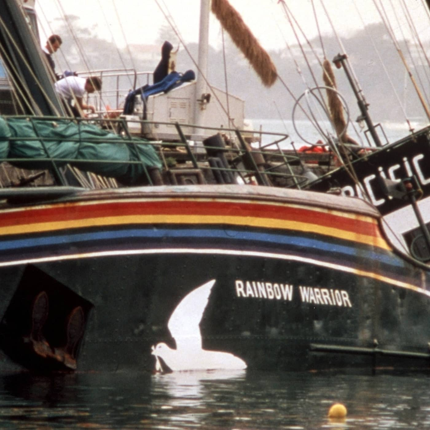 Rainbow Warrior I Ii Y Iii Greenpeace: Stenbergapyromanen