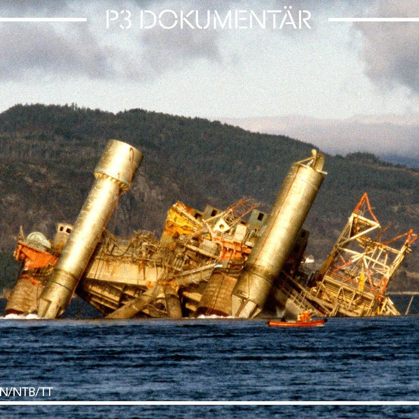 *NY* Katastrofen på oljeriggen i Nordsjön